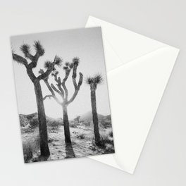 Three Brothers of Joshua Tree Stationery Cards