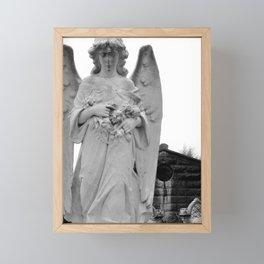 Angel Watching Over Me Framed Mini Art Print