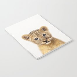 Baby Lion, Baby Animals Art Print By Synplus Notebook