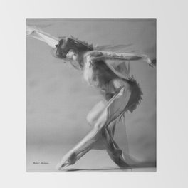 Dance Move Throw Blanket