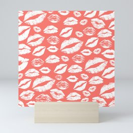 Lip 24 Living Coral Mini Art Print