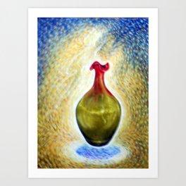 Deco Vase #1 Art Print