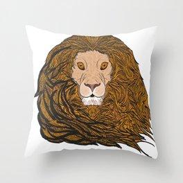 Lion Pride  Throw Pillow