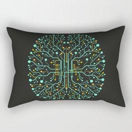 Brain Tech Rectangular Pillow