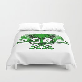 Saudi Arabia الصقور الخضر (Green Falcons) ~Group A~ Duvet Cover