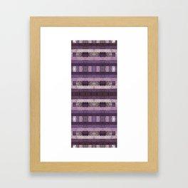 Quilt Top - Antique Twist Framed Art Print