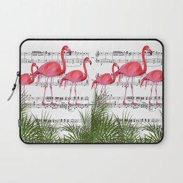 Flamingo dance Laptop Sleeve