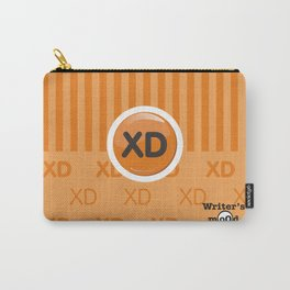 Orange Writer's Mood Carry-All Pouch