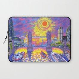 Sunset - Pool of London Laptop Sleeve