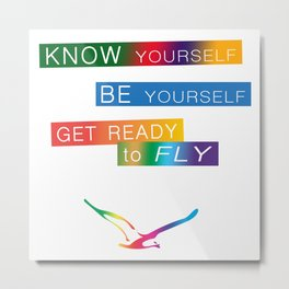 Get ready to fly Metal Print