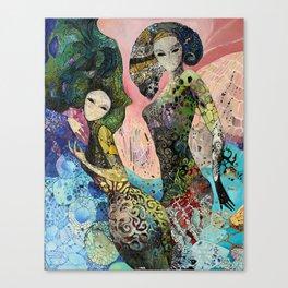 Undine Maidens Canvas Print