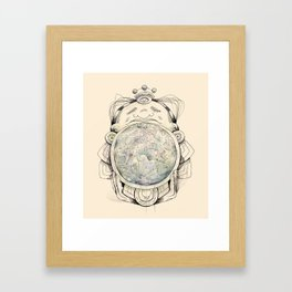 Child from the Bellybutton of the Moon Framed Art Print