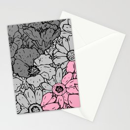 Demigirl flowers Stationery Cards