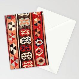 Mut  Antique Mersin Turkish Kilim Print Stationery Cards