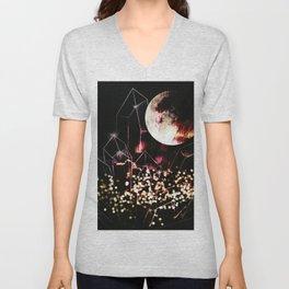 space cr Unisex V-Neck