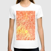 florida T-shirts featuring Florida Orange by Rosie Brown