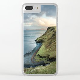 BAY - BEACH - BODY - OF - WATER Clear iPhone Case