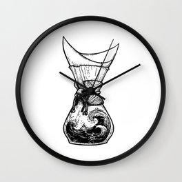 Chemax Coffee Maker Art Wall Clock