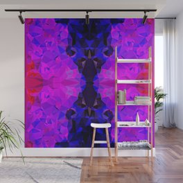 Pink Jewel Wall Mural