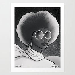 Seeing Stars 2 (Noir) Art Print