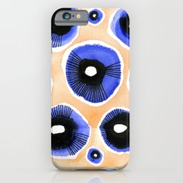 Poppy Eyed iPhone Case