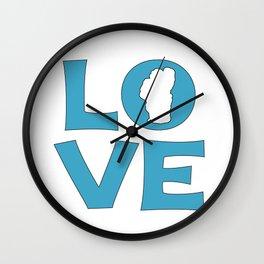 LOVE TAHOE Wall Clock