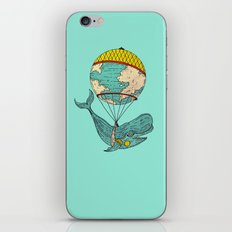 whale was all the world iPhone & iPod Skin