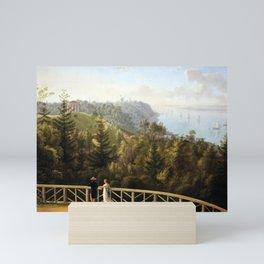 Ludwig Philipp Strack View from Baurs Hamburg Mini Art Print