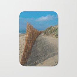 Beach Fence Landscape Bath Mat