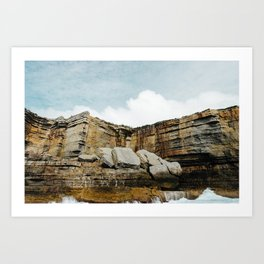 The Rocks of Beercroft Peninsula Art Print