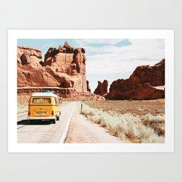 Van Life / Utah Art Print