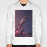the cure Hoodies featuring The Miraculous Cure by Ian Vicknair