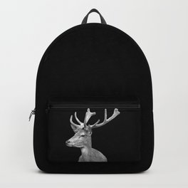 Deer Black Backpack