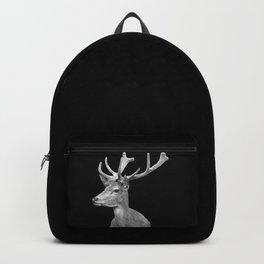 Deer Black Backpack