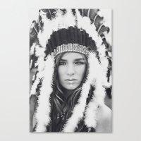 navajo Canvas Prints featuring Navajo by Jamie de Leeuw