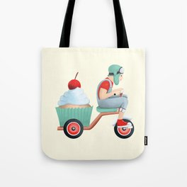 sweet on the way Tote Bag
