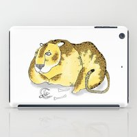 leopard iPad Cases featuring Leopard by Diana Hope