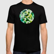 Cell MEDIUM Black Mens Fitted Tee