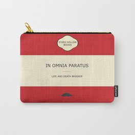 In omnia paratus- the book Carry-All Pouch
