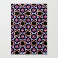 psychadelic Canvas Prints featuring Psychadelic space by Stephanie Parnell