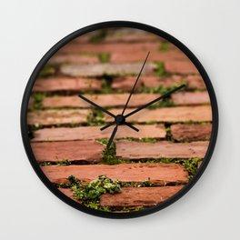 Brick by brick Wall Clock
