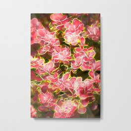 abstract plant Metal Print