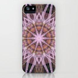 Purple Star iPhone Case