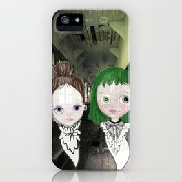 Best Friends Forever - bff ghost girls iPhone Case