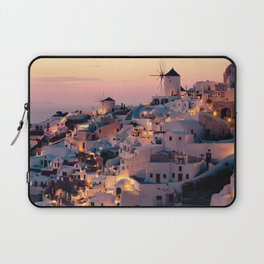 Sunset over the Village (Color) Laptop Sleeve