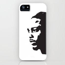 Kendrick Lamar, Pop-Art Black-and-White iPhone Case