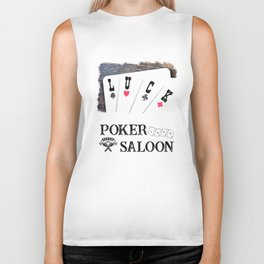 Welcome to the Poker Saloon Biker Tank