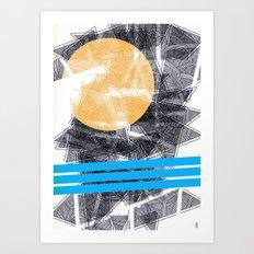 - sun x sea - Art Print