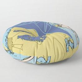 Brain Freeze Floor Pillow