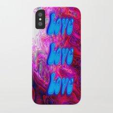 Love Love Love Slim Case iPhone X